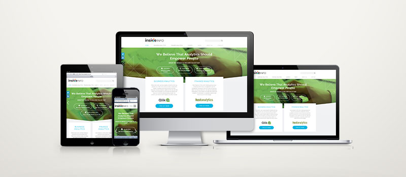 Inside Info brand refresh: website designed by Orion Creative.