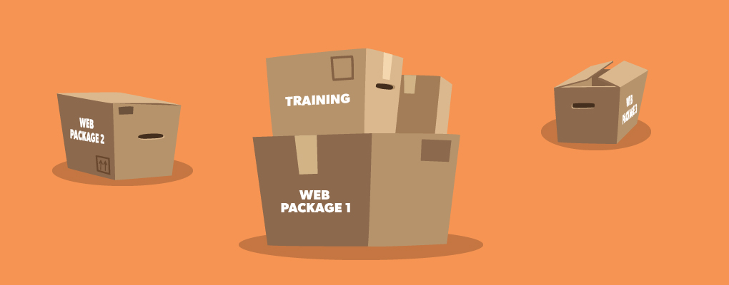 Beware of web companies that don't offer training or support