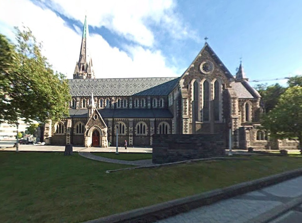 Goolge Street View preserves memory of Christchurch Cathedral