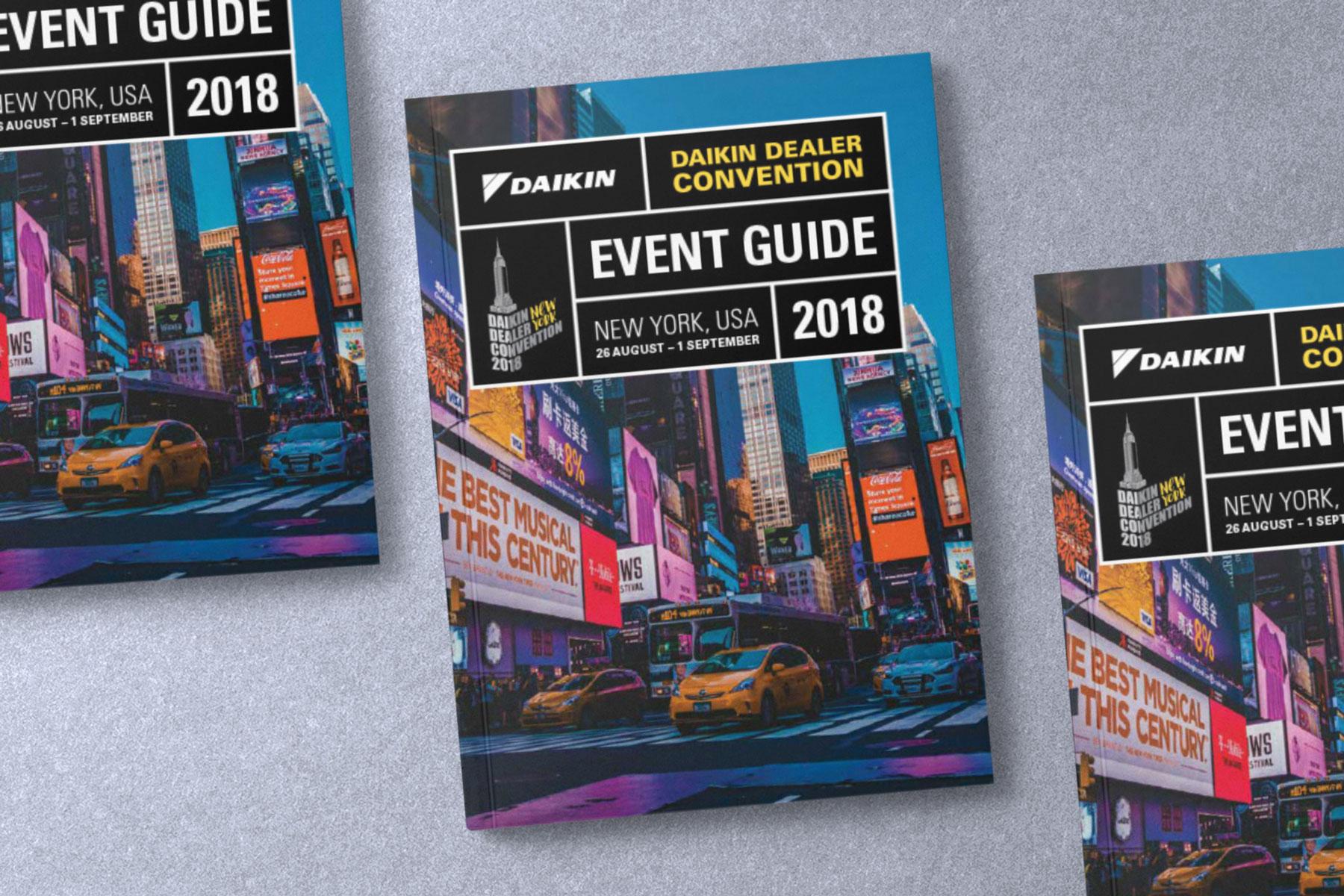 Daikin Dealer Convention Event Guide