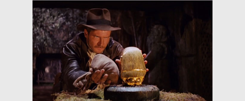 Content marketing ideas and tips. Make sure your content is valuable - Raiders of the Lost Ark
