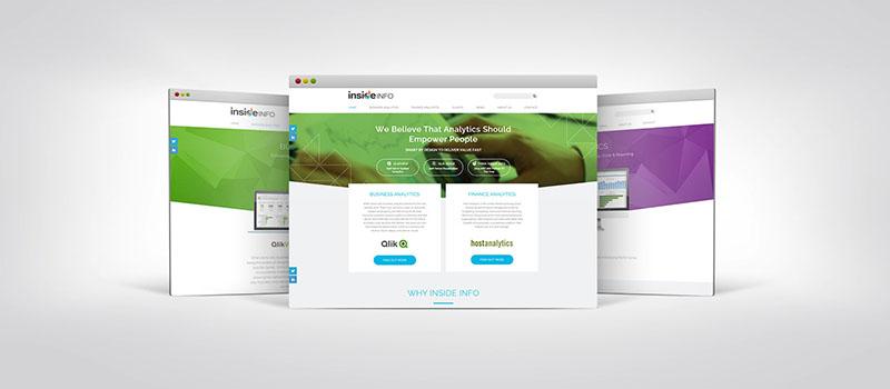 Inside Info brand refresh - web development by Orion Creative