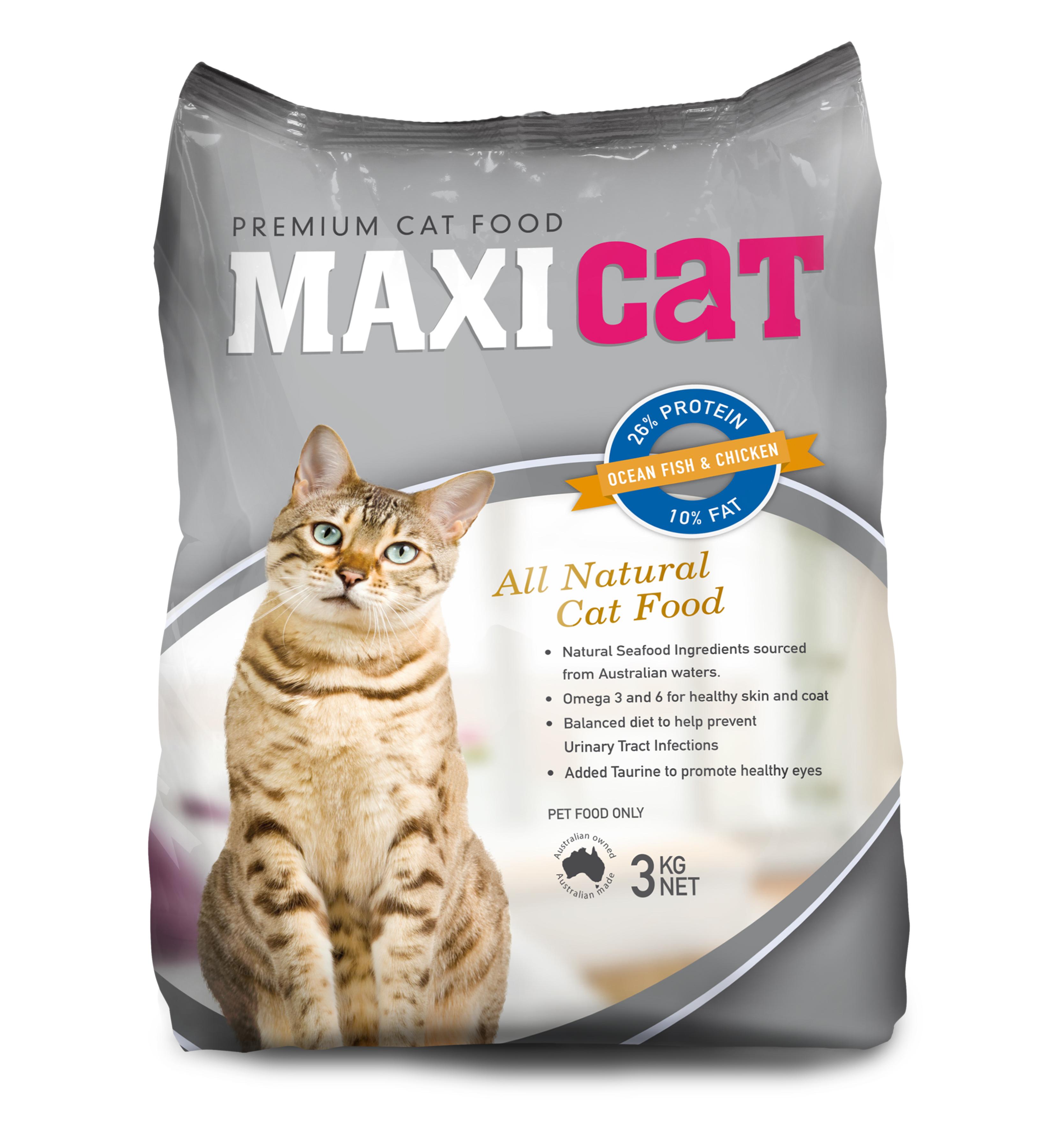 Maxi cat packaging