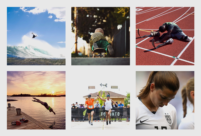 Content marketing example - Nike on Instagram