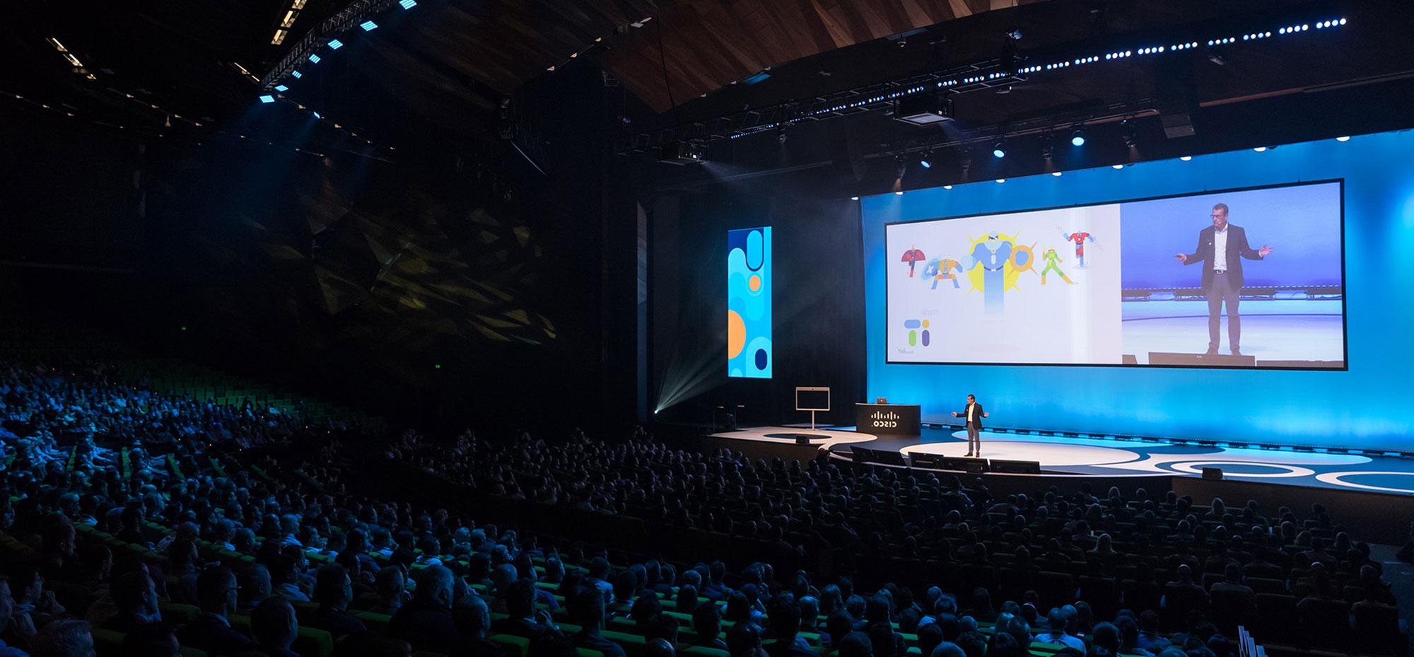 Cisco Live 2019 event branding