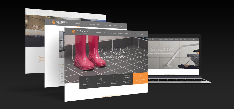 Glennon Tiles web development
