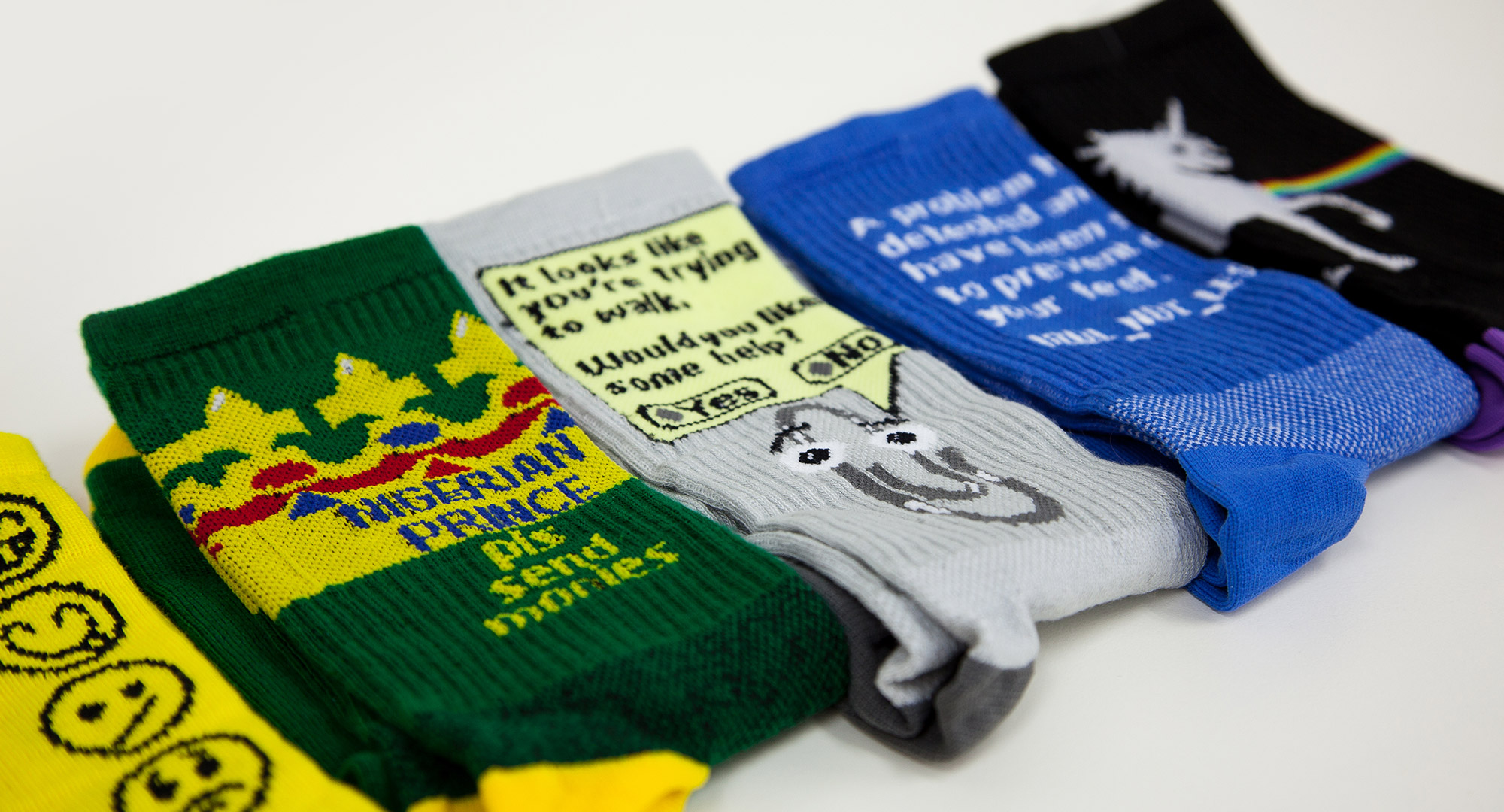 Sophos Socks apparel design