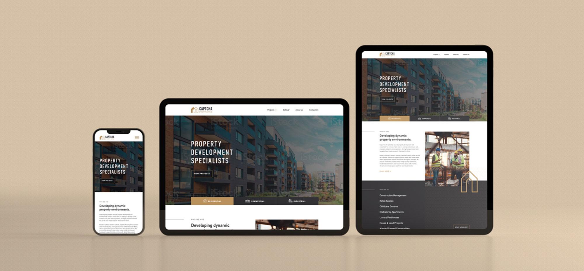 Captcha Property web development