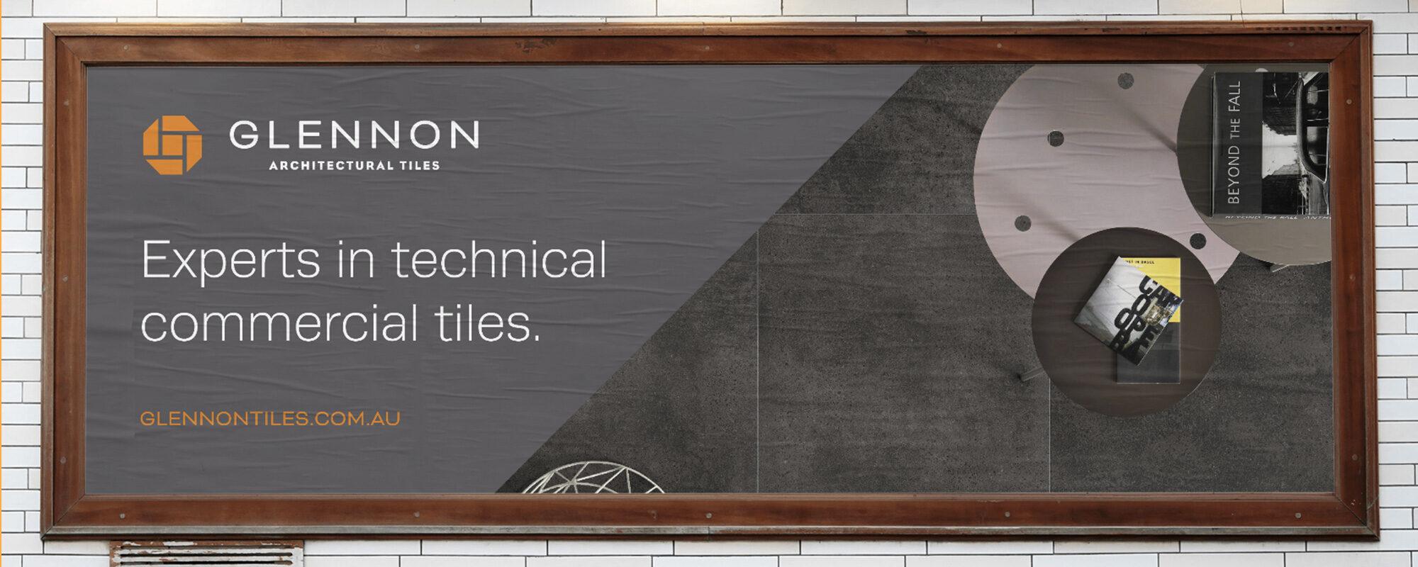 Glennon Tiles billboard design