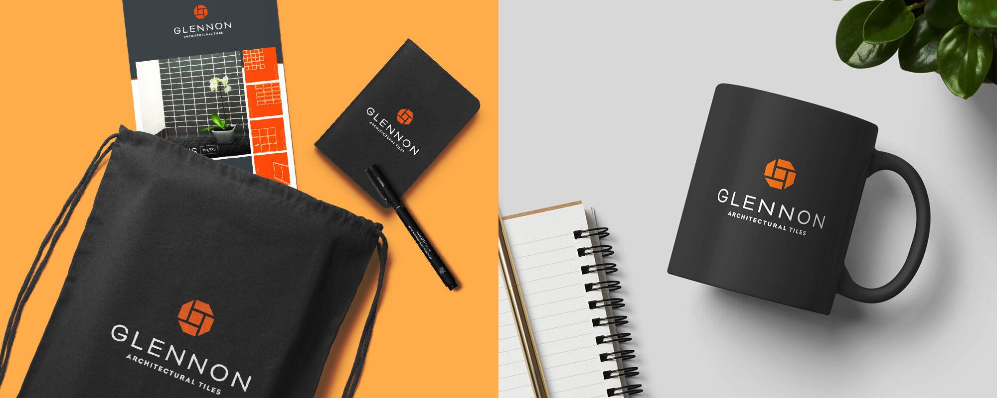 Glennon Tiles branding & graphic design