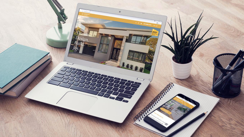 Horizon Homes web development